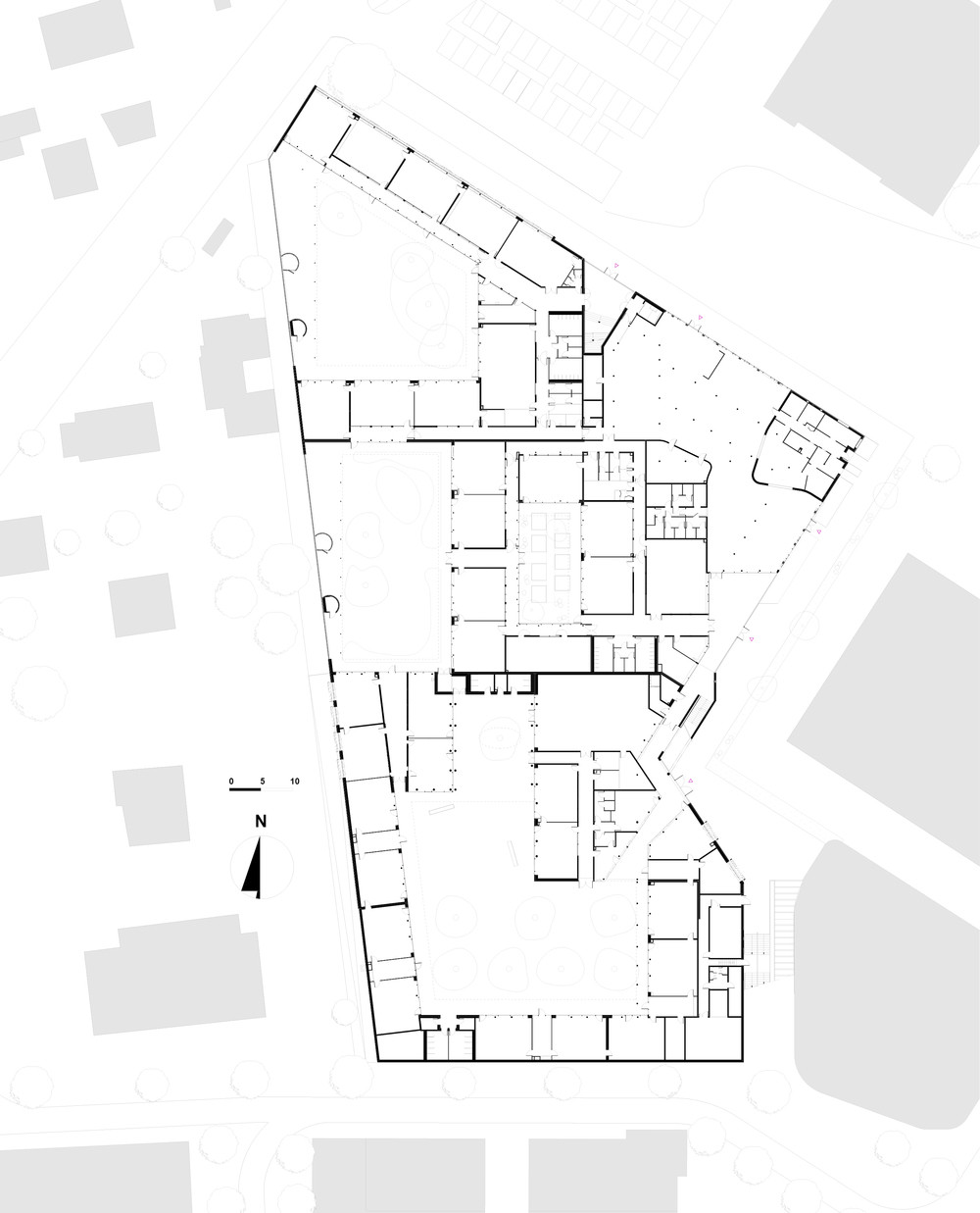 galeria de groupe scolaire pasteur r2k architectes 14. Black Bedroom Furniture Sets. Home Design Ideas
