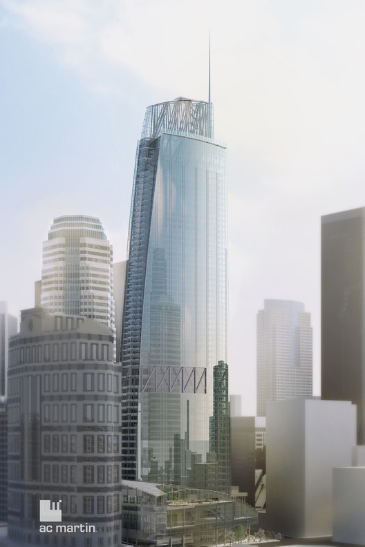 The West Coast's Tallest: Wilshire Grand / AC Martin Partners , Courtesy of AC Martin Partners
