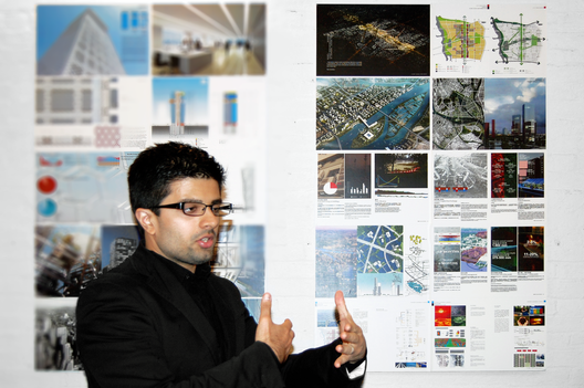 Arpan Bakshi, the sustainability manager for OMA's Essence Financial Building. Image via Arpan Bakshi.