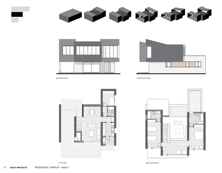 Planimetría Casa B