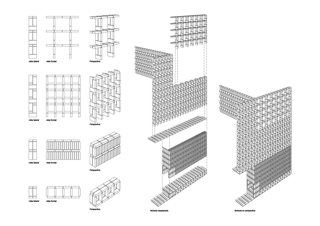 Brick Axonometric