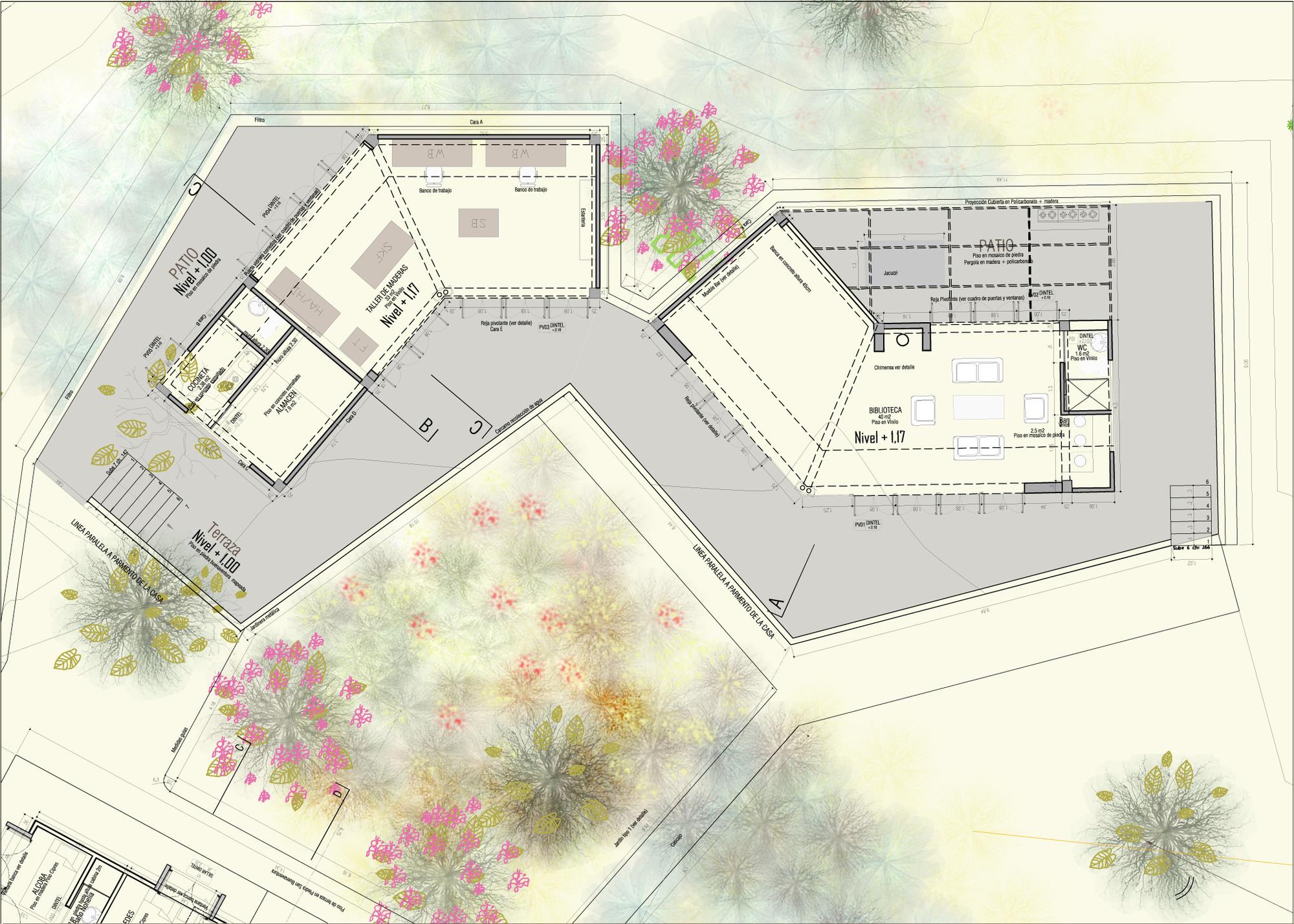 Cadaluja reforma de una casa campesina ctrl g for Plataforma de arquitectura