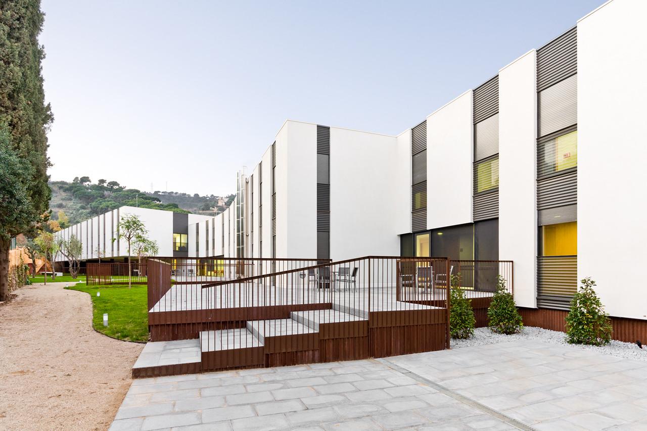 Residencia geriàtrica Mas Piteu / Estudi PSP Arquitectura, © Francisco Urrutia