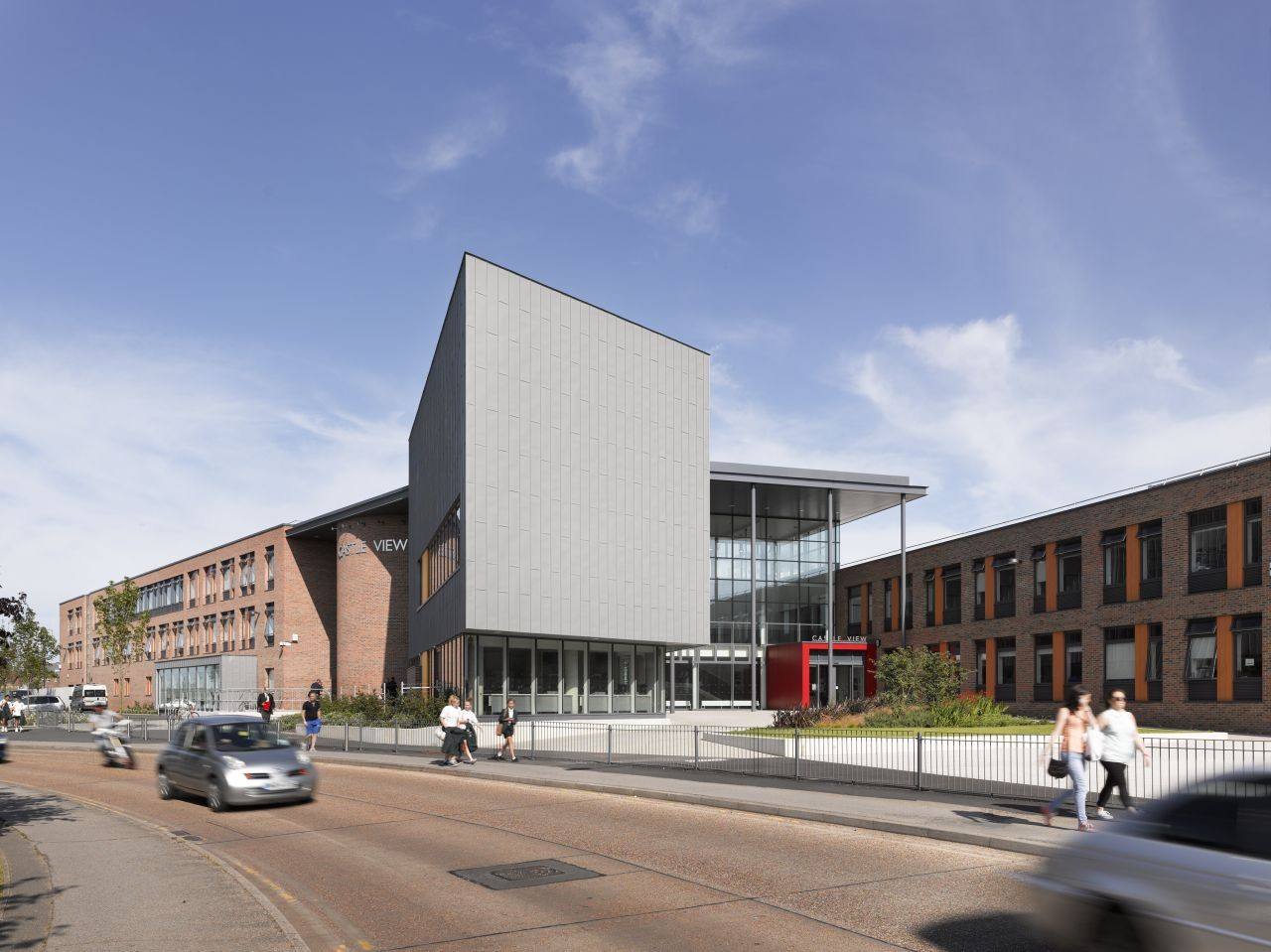 Castle View School / Nicholas Hare Architects, © Alan Williams