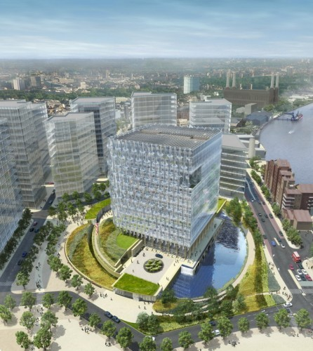 Design Excellence of US Embassies: Openness and Security, US Embassy in London / KieranTimberlake Architects