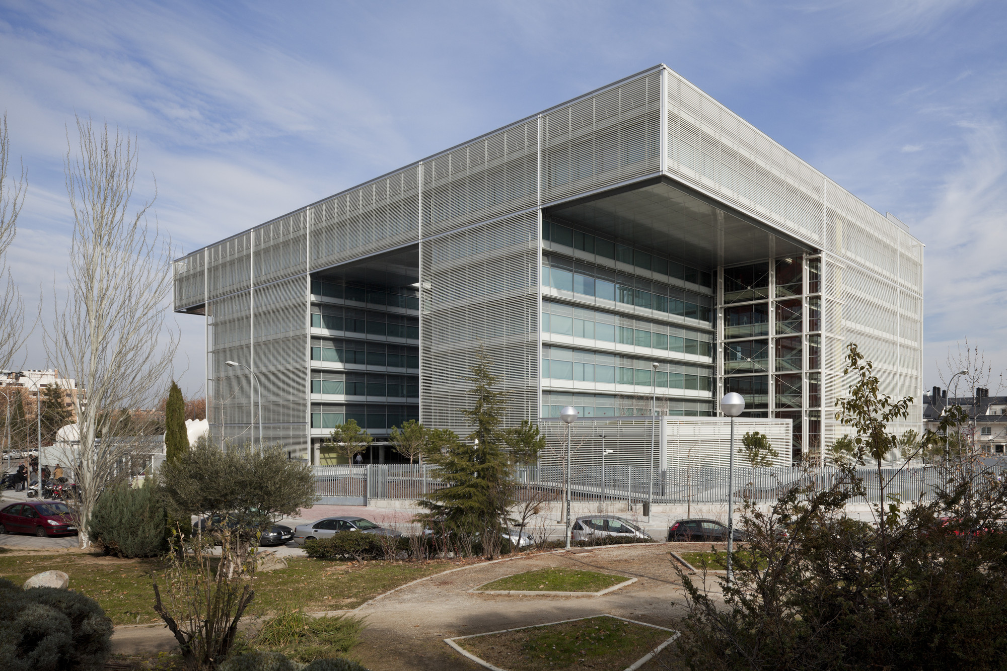 Nueva sede banco popular arquitectos ayala for Oficinas banco popular madrid
