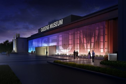 Queens Museum of Art Expansion / Grimshaw Architects, Courtesy of  Grimshaw and the Queens Museum of Art