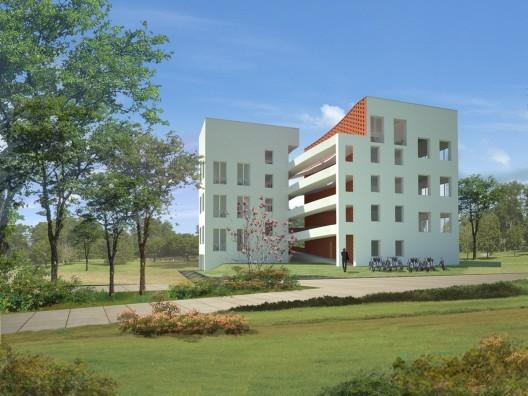 Spiral Housing by OBRA Architects