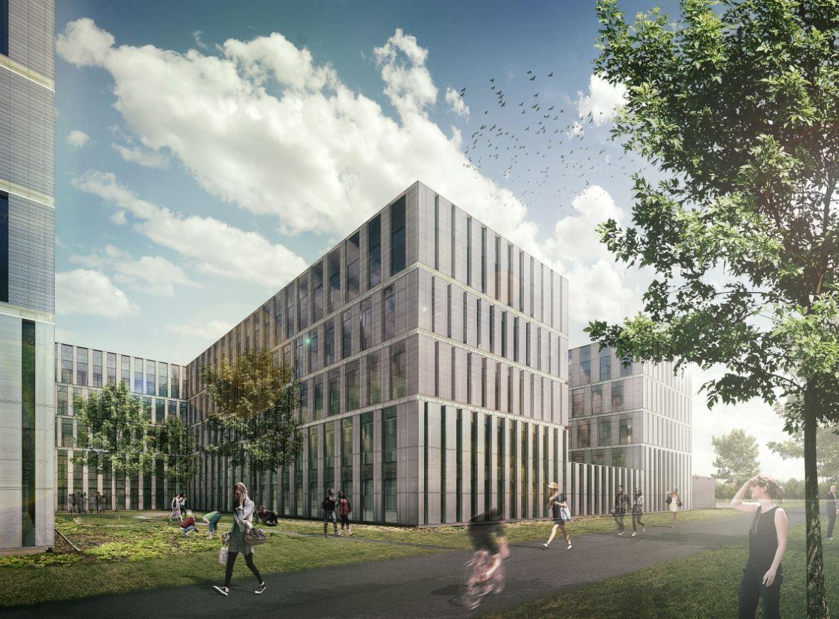 Leiden University New Science Campus / JHK Architecten + Inbo, Courtesy of JHK Architecten + Inbo