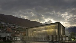 Cinema Hall of Locarno Film Festival Proposal / Mauro Turin Architectes