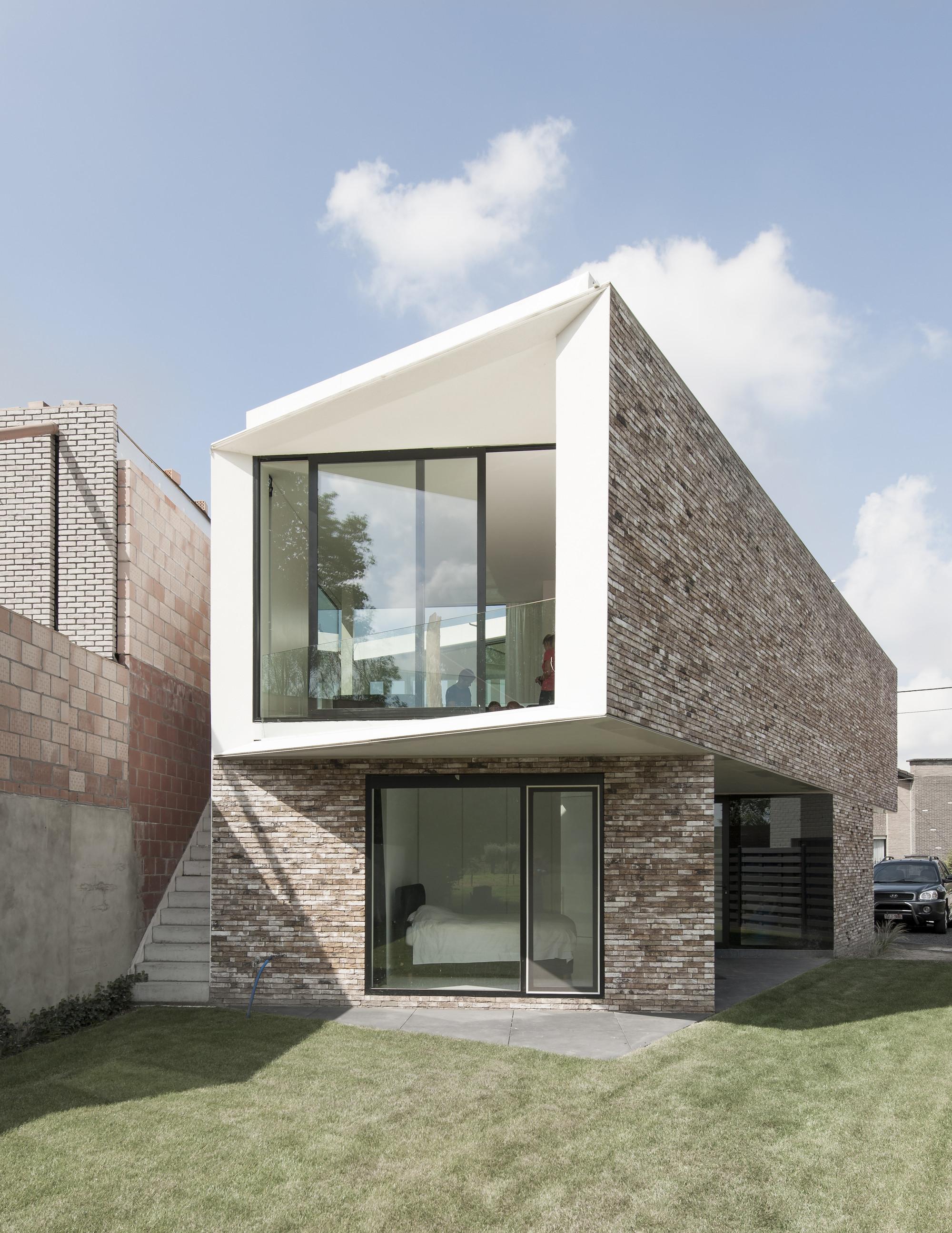 Gallery of house k graux baeyens architecten 5 - Nicolas petit architecte ...