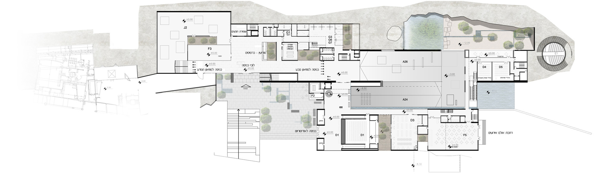 gallery architecture plan - photo #14