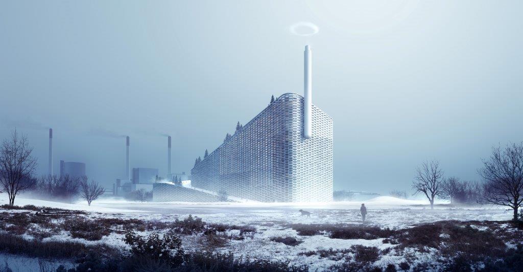 BIG's Waste-to-Energy Plant Breaks Ground, Breaks Schemas, © BIG-Bjarke Ingels Group
