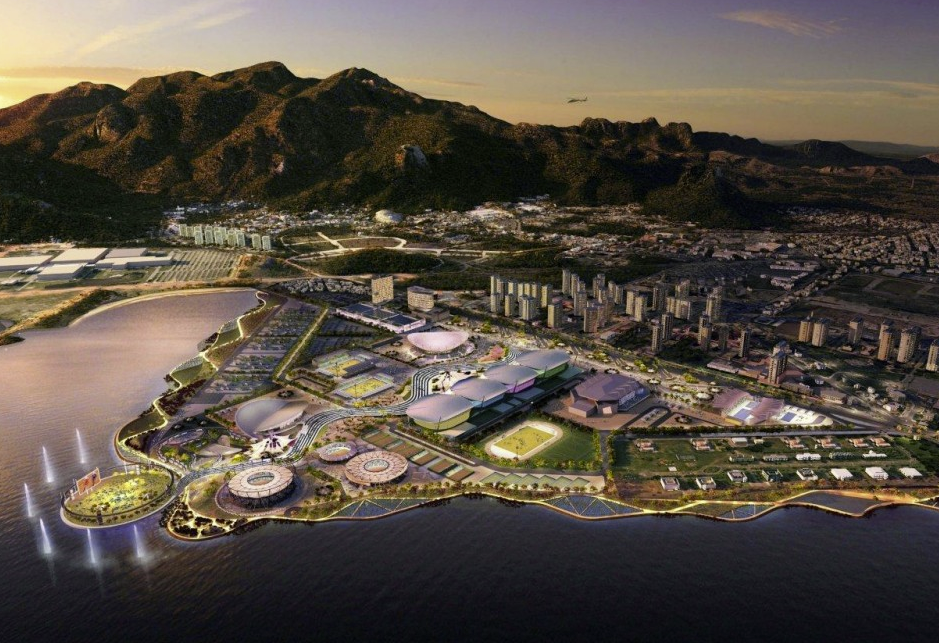 British Architects Seek Infrastructure Opportunities in Brazil, AECOM Masterplan of Rio 2016 Olympic Park