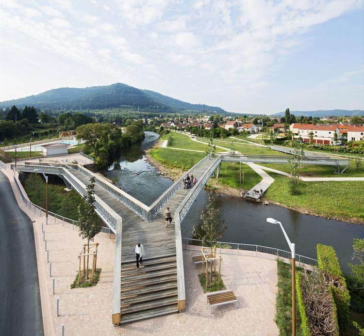 Bancos de Desarrollo Meurthe / Atelier Cite Architecture, © Michel Denancé