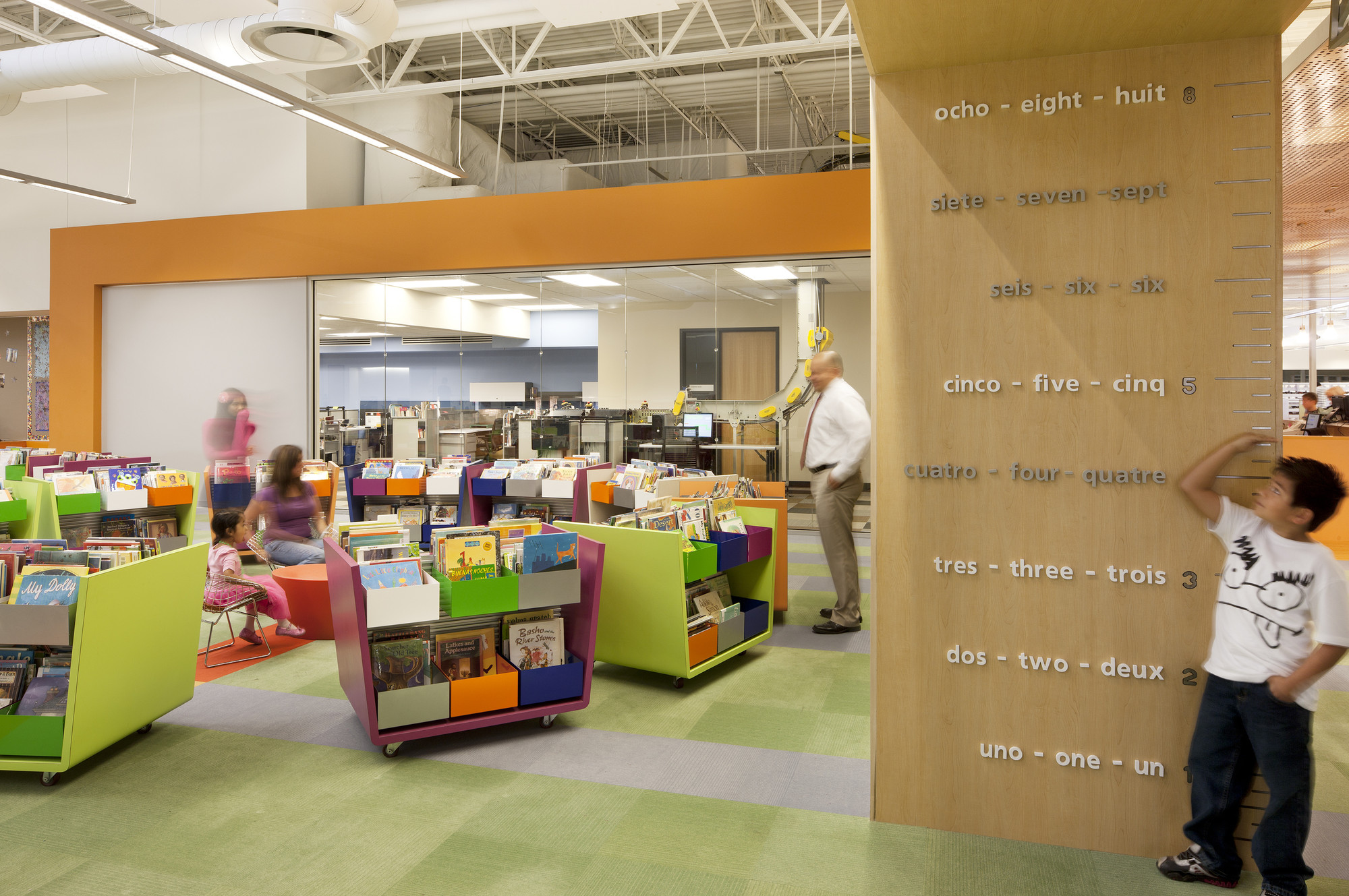 La Public Library Children S Reading Room