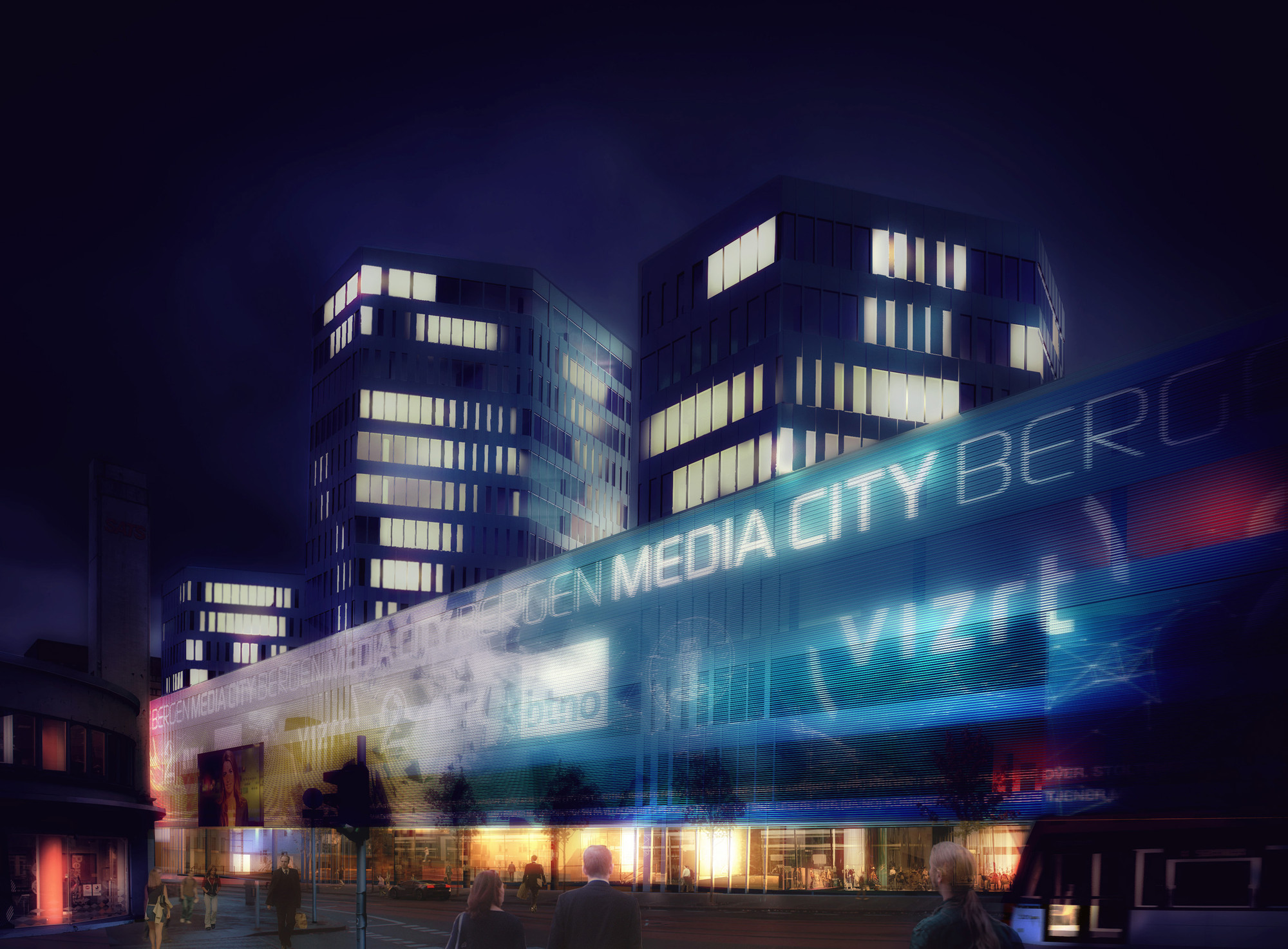 Media City Bergen (MCB) Winning Proposal / MAD arkitekter ArchDaily