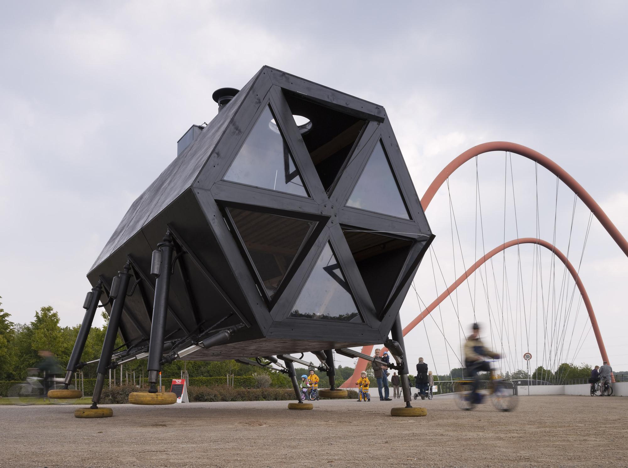 Walking House: Casa modular auto-suficiente para nómades modernos, © Roman Mensing / EMSCHERKUNST.2010