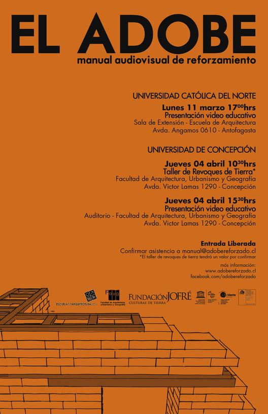 """Presentación en Antofagasta: """"EL ADOBE manual audiovisual de reforzamiento"""" , Presentación en Antofagasta: """"EL ADOBE manual audiovisual de reforzamiento"""""""