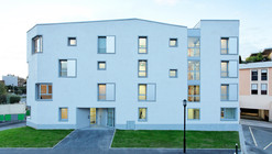 Transition Centre of 24 housing in Rambouillet / Benjamin Fleury