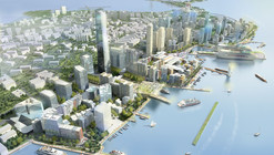 Qingdao Harborfront Redevelopment Proposal / EE&K a Perkins Eastman Company