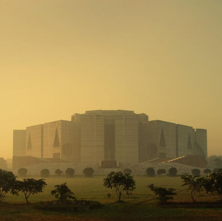 National Assembly Building in Dhaka, Bangladesh, Louis Kahn, 1962-83