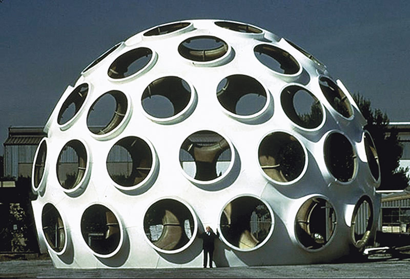 "Buckminster Fuller's 50-Foot ""Fly's Eye"" Dome to be Restored, © John Warren"