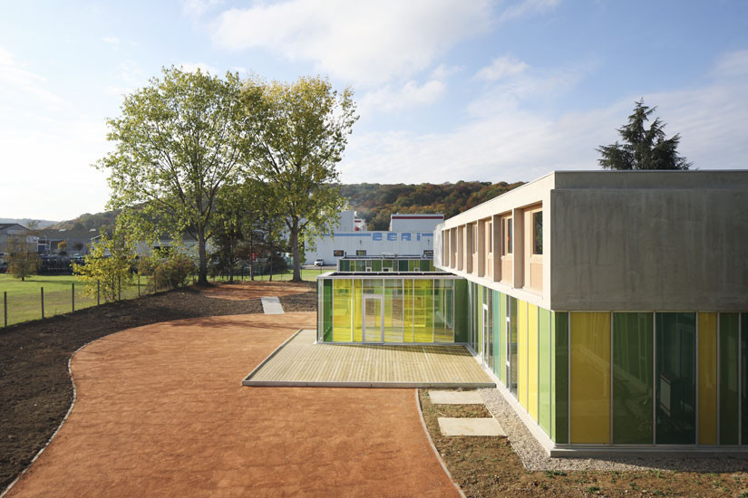 Reception Center and Social Reintegration, Residence Henri Durand / Hélène Fricout-Cassignol Architects , © Hélène Fricout-Cassignol Architects