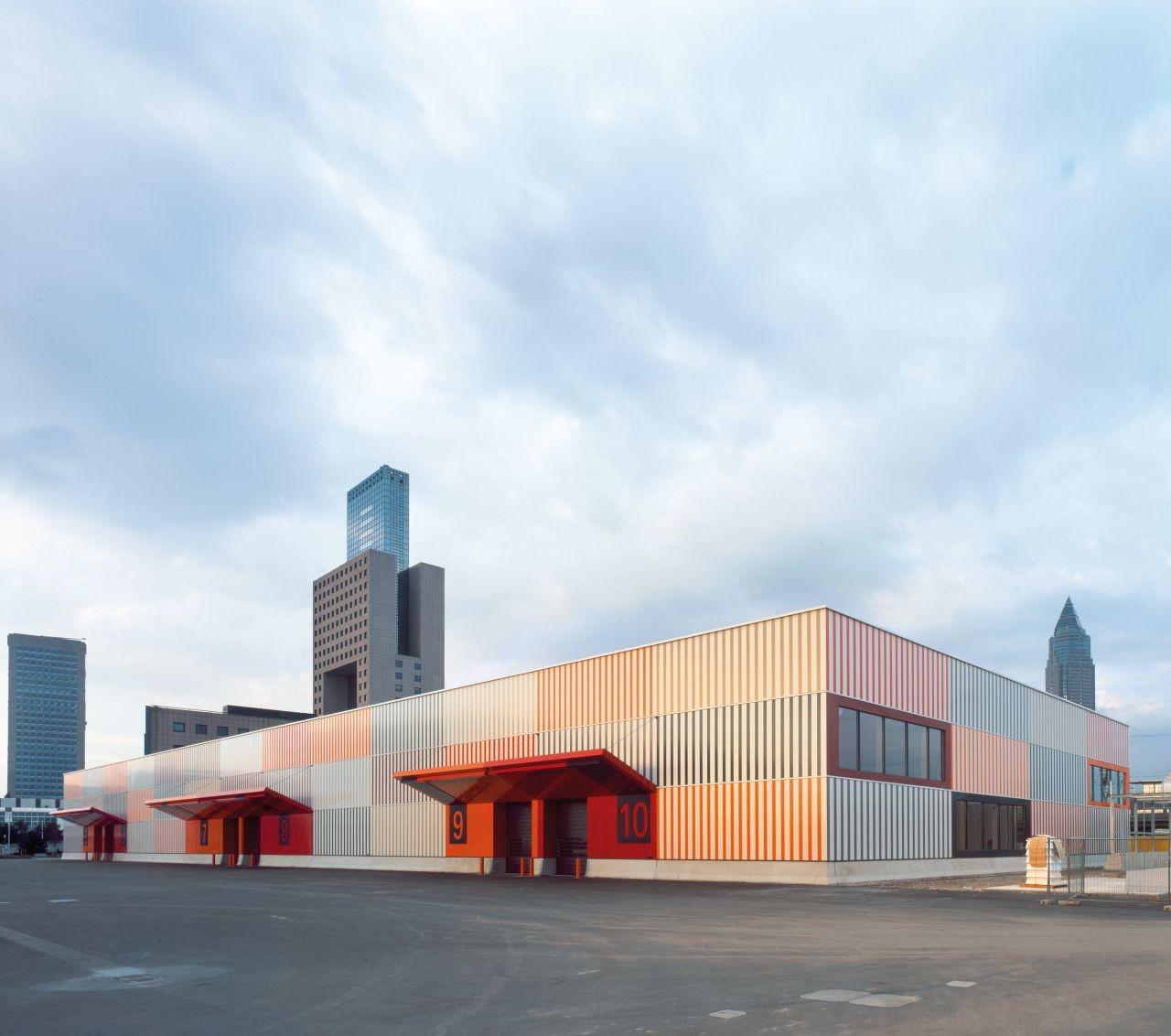 Cargocenter Frankfurt / Kölling Architekten, © Christoph Kraneburg