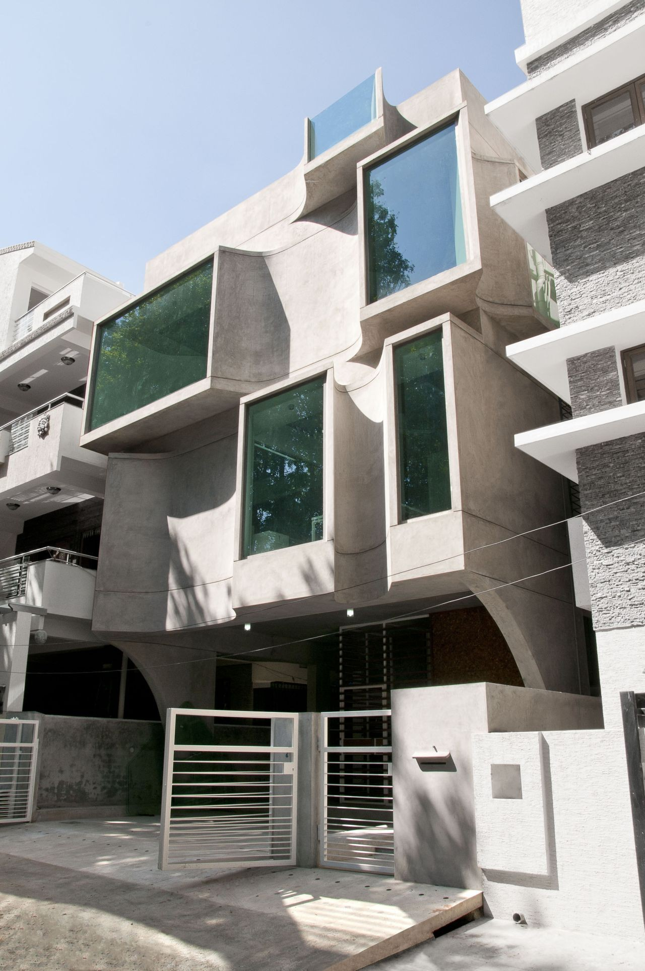 Facade Architecture Residential Modern Houses
