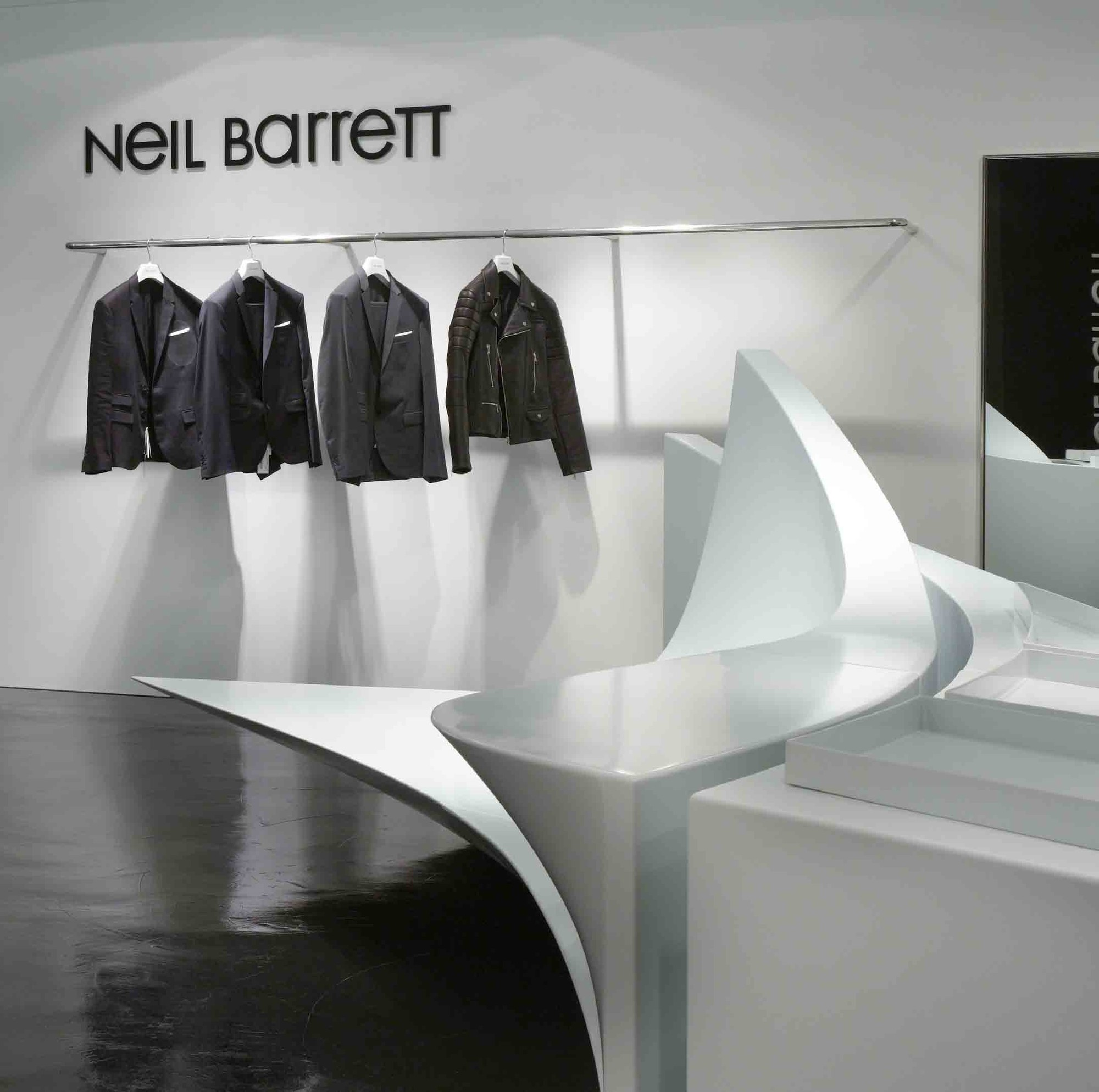 Gallery Of Neil Barrett 39 Shop In Shop 39 Zaha Hadid