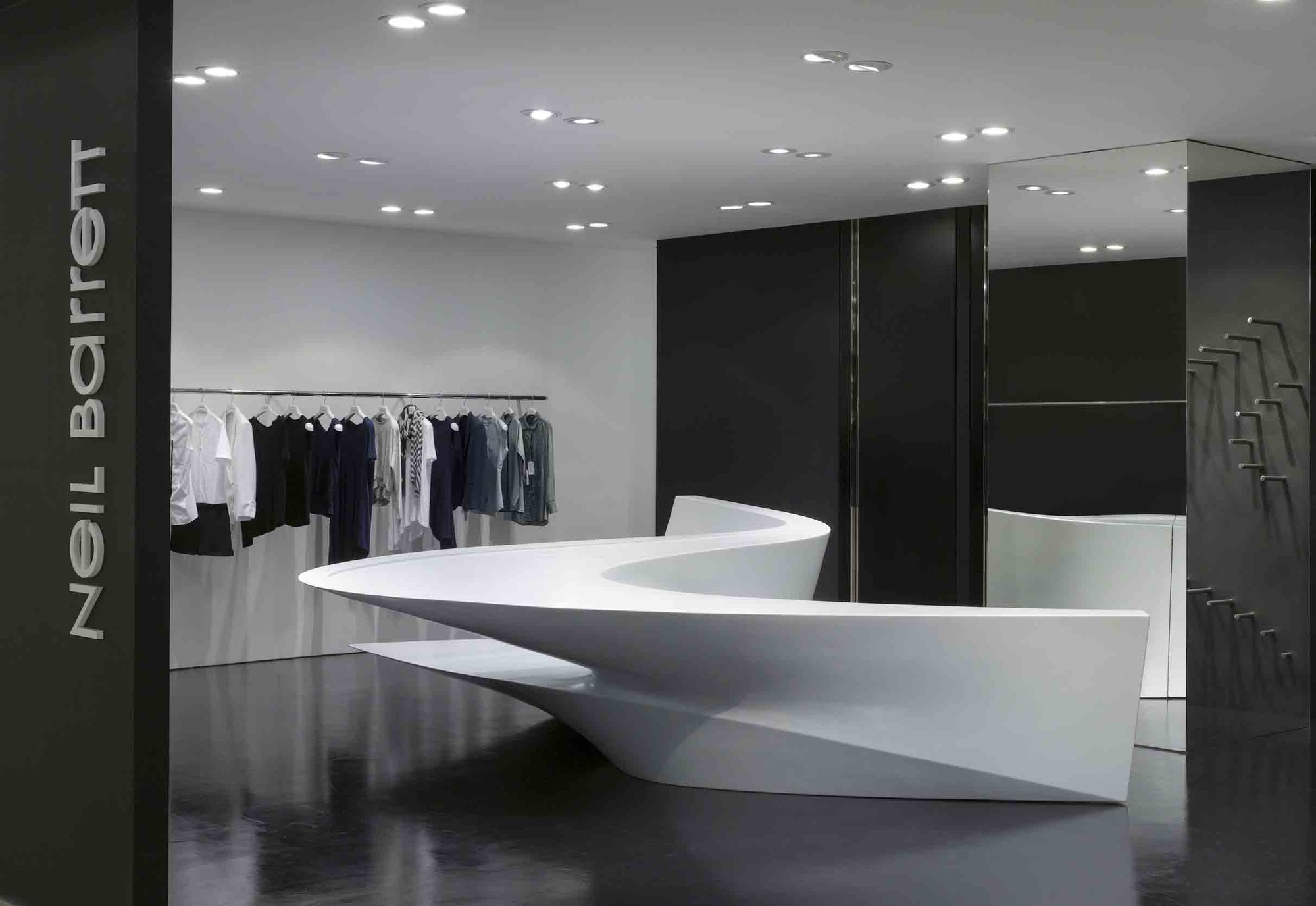 Neil Barrett 39 Shop In Shop 39 Zaha Hadid Architects