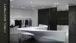 Neil Barrett 'Shop in Shop' / Zaha Hadid Architects