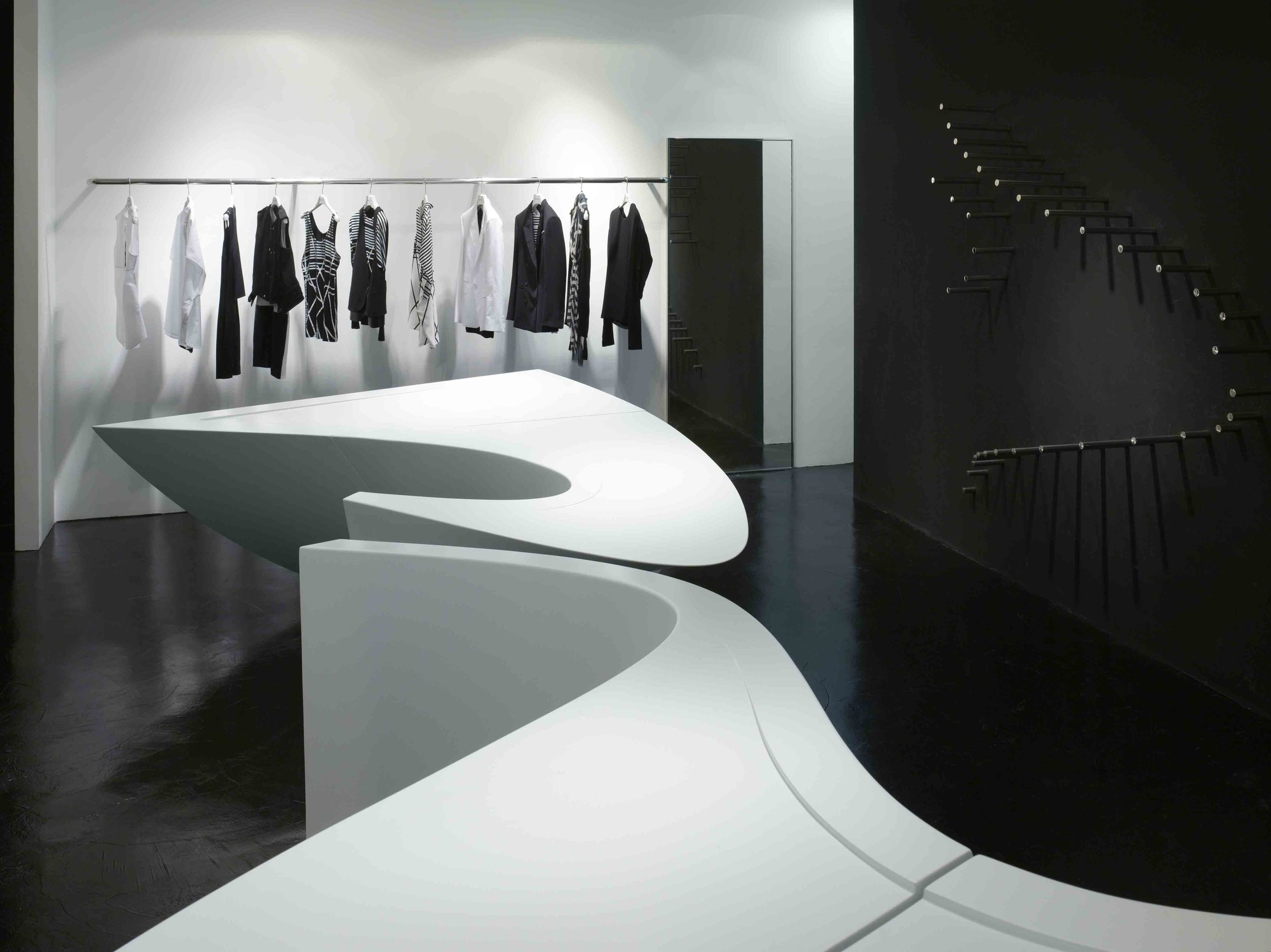 Gallery Of Neil Barrett 39 Shop In Shop 39 Zaha Hadid