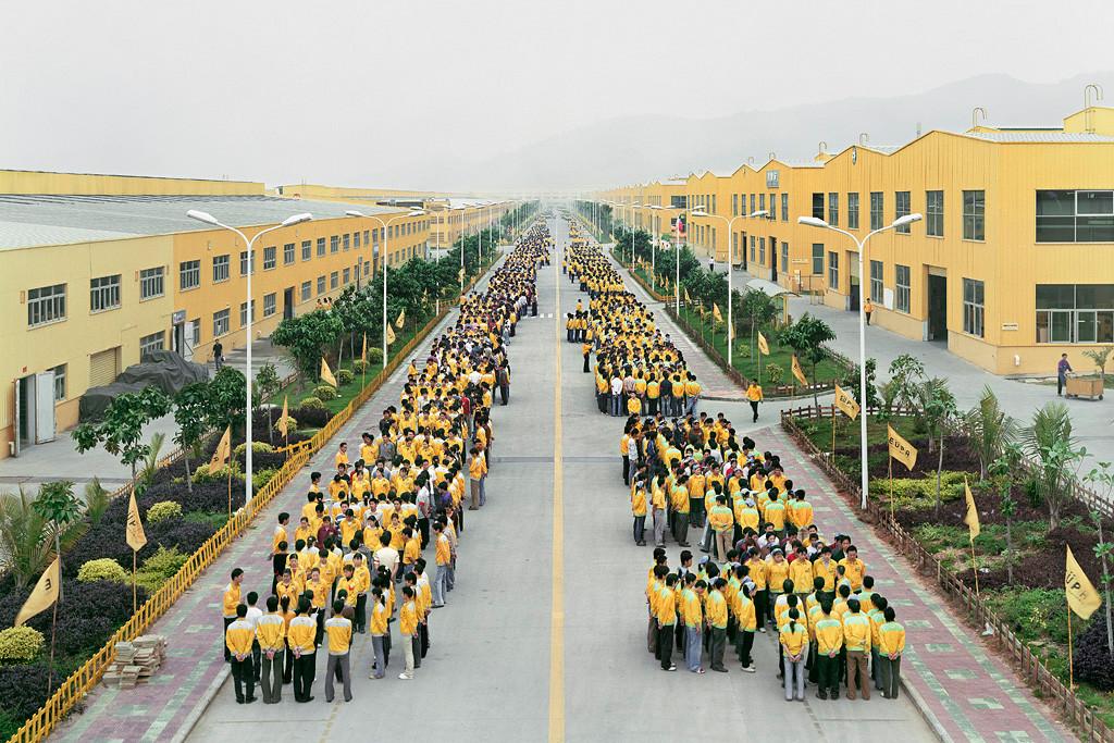 Cankun Factory, Zhangzhou, Fujian Province, 2005. Photograph, Edward Burtynsky