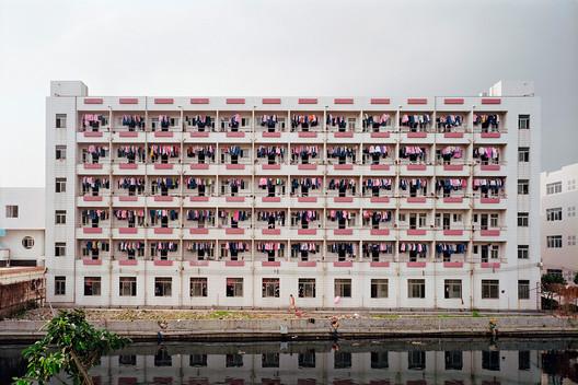 Factory Worker Dormitory, Dongguan, Guangdong Province, 2005. Photograph, Edward Burtynsky