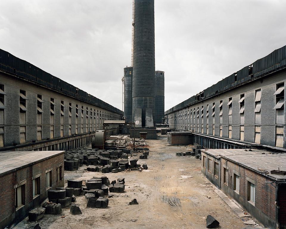 Fushun Aluminum Smelter, Fushun City, Liaoning Province, 2005. Photograph, Edward Burtynsky
