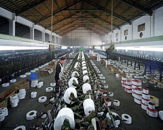 Textile Mill, Xiaoxing, Zhejiang, 2004. Photograph, Edward Burtynsky