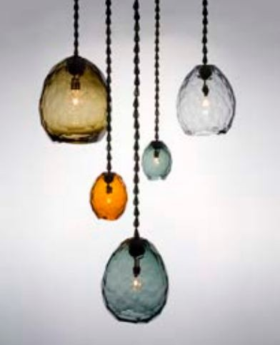 "David Wiseman, ""Glacier"" pendant chandelier, USA, 2011 / © Sherry Griffin/R 20th Century"