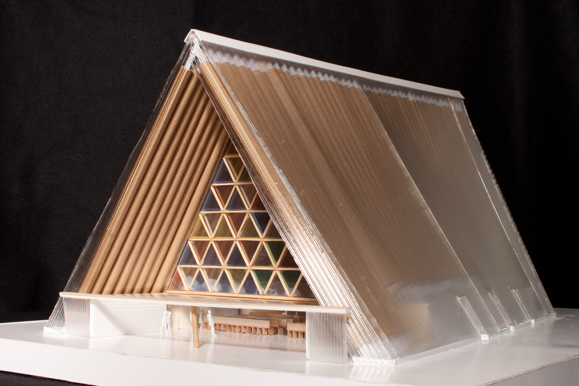 shigeru ban 39 s cardboard cathedral underway in new zealand archdaily. Black Bedroom Furniture Sets. Home Design Ideas