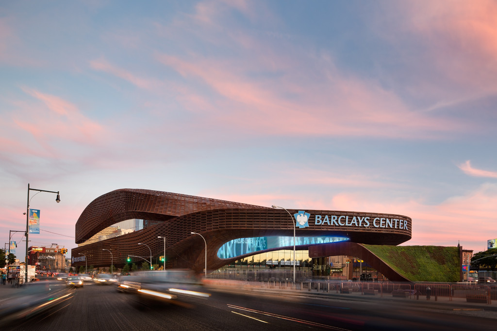 Barclays Center © Bruce Damonte