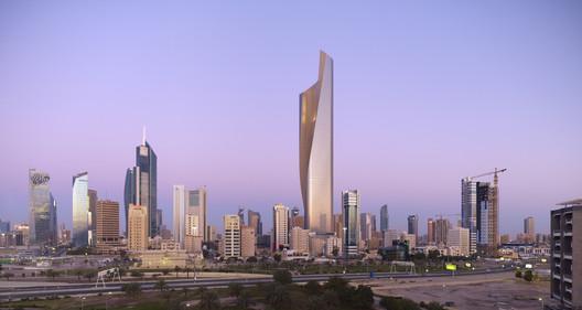 Al Hamra Tower © Tim Griffith, SOM