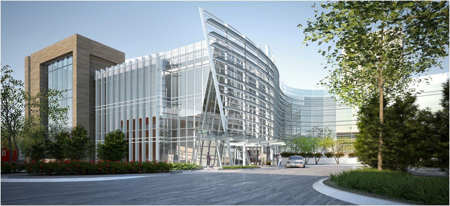Advocate Illinois Masonic Medical Center, Center for Advanced Care Proposal / SmithGroupJJR, Courtesy of SmithGroupJJR