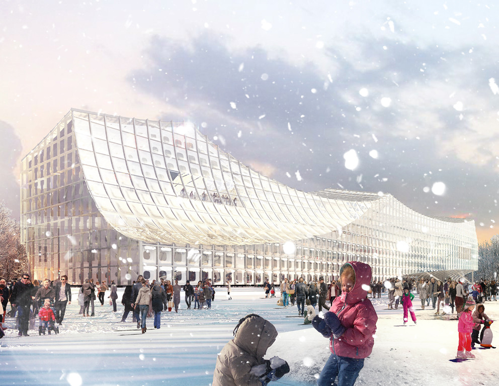 Helsinki Central Library © Platform for Architecture + Research