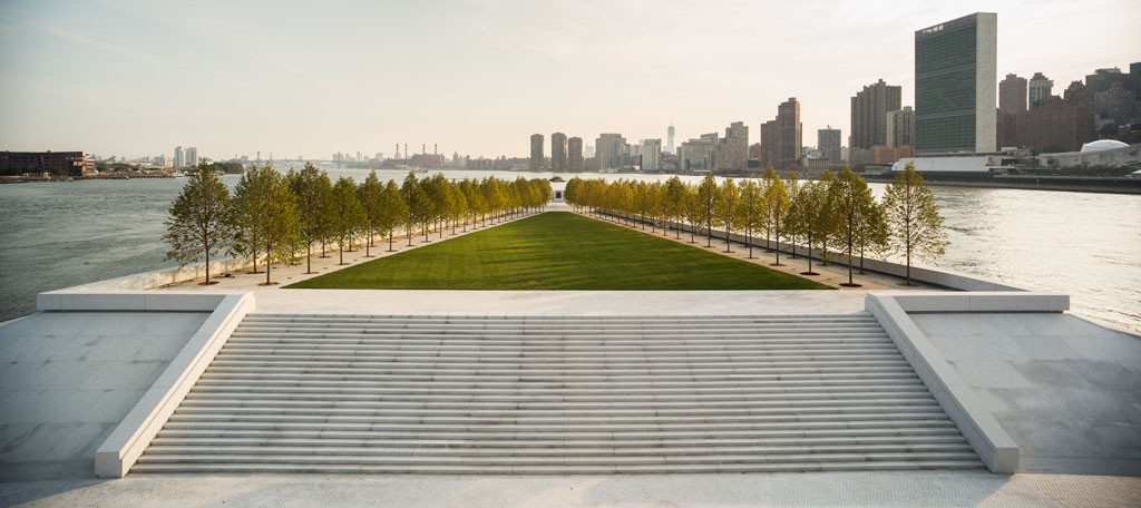 Franklin D. Roosevelt Four Freedoms Park © Paul Warchol
