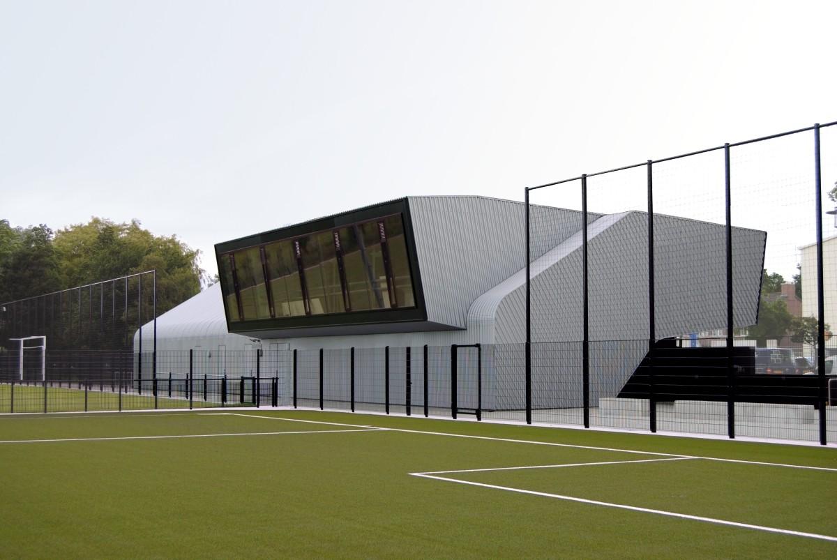 Galer a de dos centros deportivos boshuizerkade ren van for Bo architecture 4 1