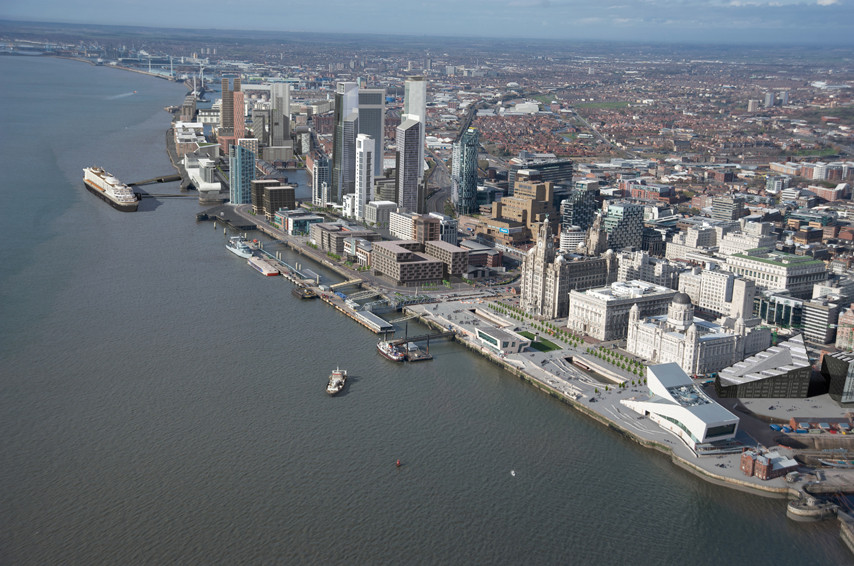 UK Government Grants Approval to Liverpool Waters Scheme, Courtesy of Rust Studios