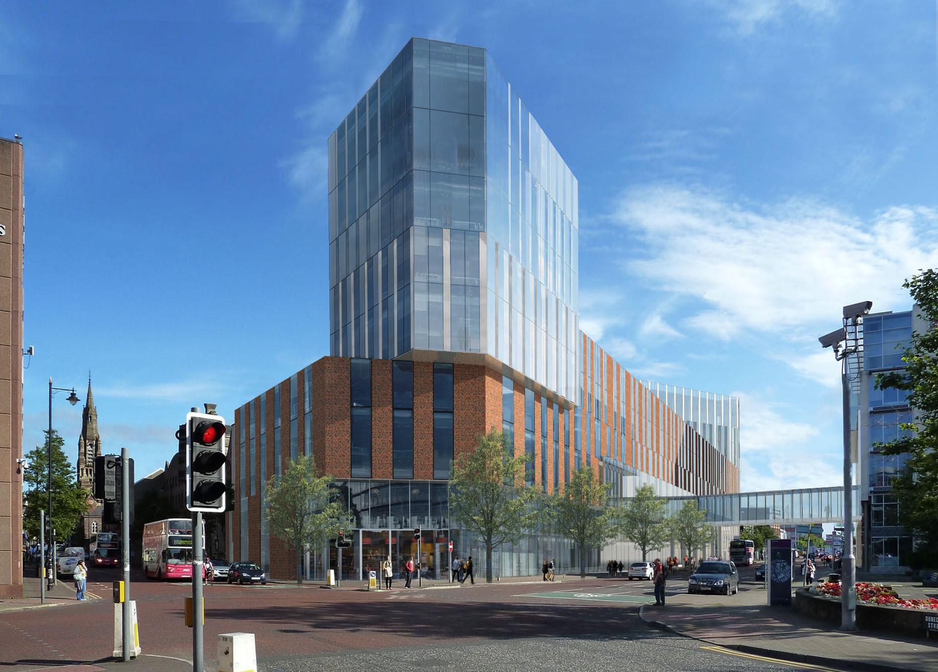 University of Ulster's Belfast City Campus Proposal / Feilden Clegg Bradley Studios, © Feilden Clegg Bradley Studios
