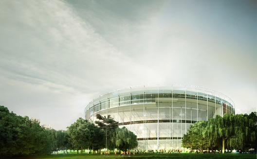 Courtesy of MenoMenoPiu Architects + FHF Architectes