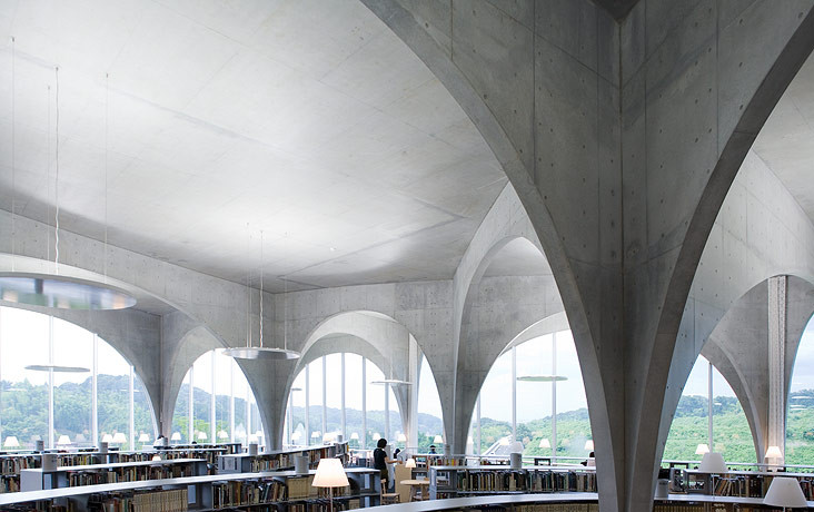 Tama Art University Library © Iwan Baan